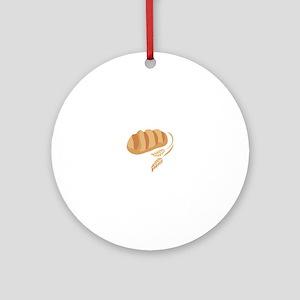 BREAD AND WHEAT Ornament (Round)