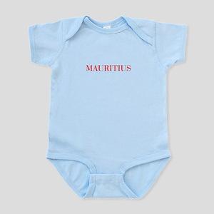 Mauritius-Bau red 400 Body Suit