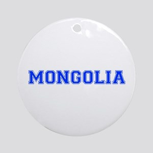 Mongolia-Var blue 400 Ornament (Round)