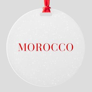 Morocco-Bau red 400 Ornament