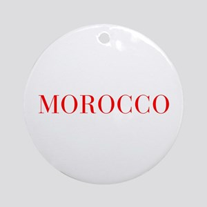 Morocco-Bau red 400 Ornament (Round)