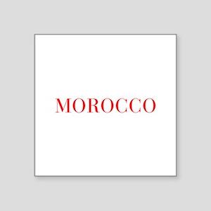 Morocco-Bau red 400 Sticker