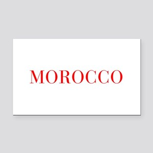 Morocco-Bau red 400 Rectangle Car Magnet