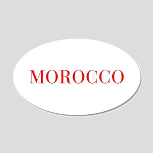 Morocco-Bau red 400 Wall Decal
