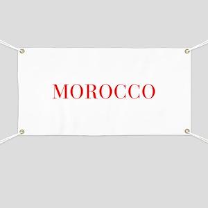 Morocco-Bau red 400 Banner