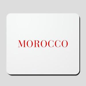 Morocco-Bau red 400 Mousepad