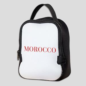 Morocco-Bau red 400 Neoprene Lunch Bag
