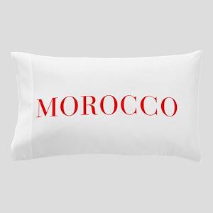 Morocco-Bau red 400 Pillow Case