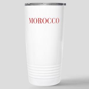 Morocco-Bau red 400 Travel Mug