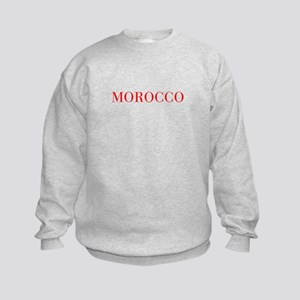 Morocco-Bau red 400 Sweatshirt