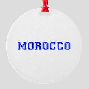 Morocco-Var blue 400 Ornament