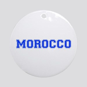 Morocco-Var blue 400 Ornament (Round)