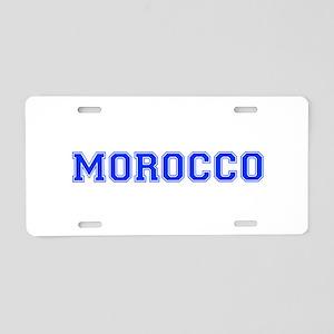 Morocco-Var blue 400 Aluminum License Plate