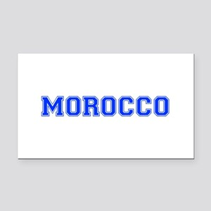 Morocco-Var blue 400 Rectangle Car Magnet