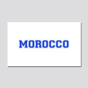 Morocco-Var blue 400 Car Magnet 20 x 12