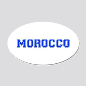 Morocco-Var blue 400 Wall Decal