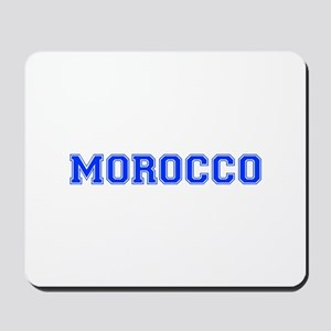 Morocco-Var blue 400 Mousepad
