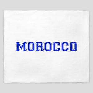 Morocco-Var blue 400 King Duvet