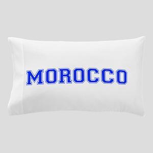 Morocco-Var blue 400 Pillow Case