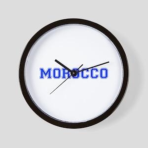 Morocco-Var blue 400 Wall Clock