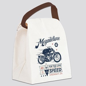 Bike Love of Speed Canvas Lunch Bag