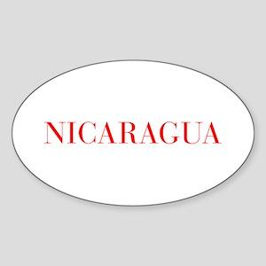 Nicaragua-Bau red 400 Sticker