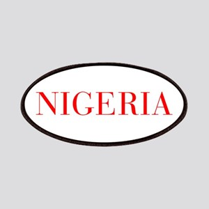Nigeria-Bau red 400 Patch