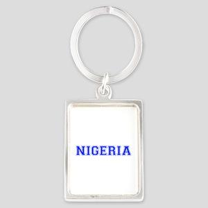 Nigeria-Var blue 400 Keychains