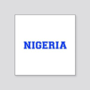 Nigeria-Var blue 400 Sticker