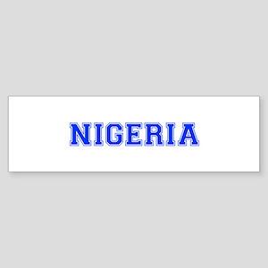 Nigeria-Var blue 400 Bumper Sticker