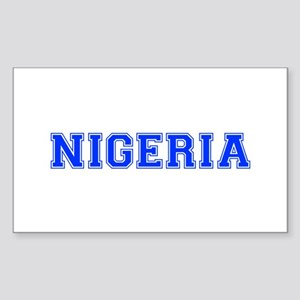 Nigeria-Var blue 400 Sticker
