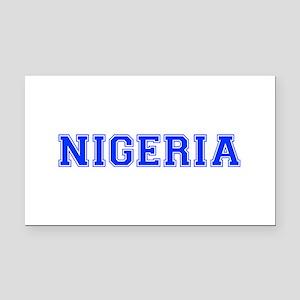 Nigeria-Var blue 400 Rectangle Car Magnet