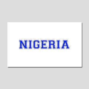 Nigeria-Var blue 400 Car Magnet 20 x 12