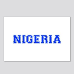 Nigeria-Var blue 400 Postcards (Package of 8)