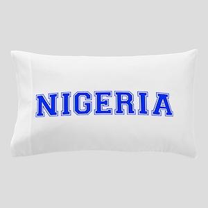 Nigeria-Var blue 400 Pillow Case
