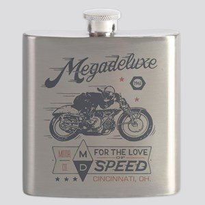 Bike Love of Speed Flask