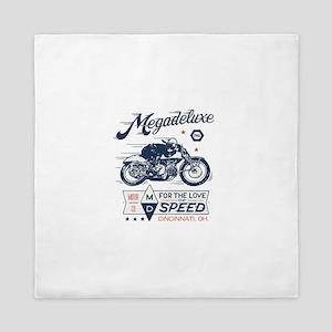 Bike Love of Speed Queen Duvet