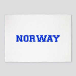 Norway-Var blue 400 5'x7'Area Rug