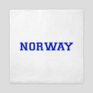Norway-Var blue 400 Queen Duvet