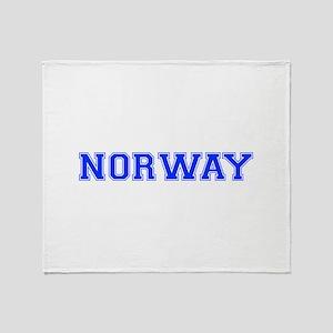 Norway-Var blue 400 Throw Blanket
