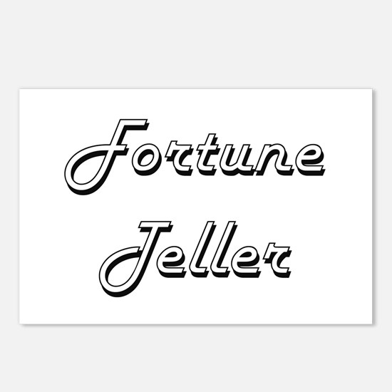 Fortune Teller Classic Jo Postcards (Package of 8)