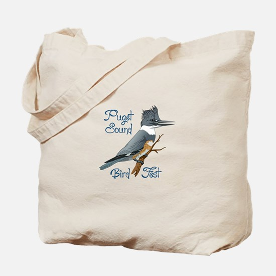 PUGET SOUND BIRD FEST Tote Bag
