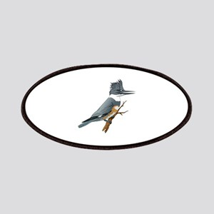 BELTED KINGFISHER Patch