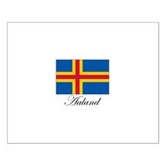 Aaland - Flag Posters