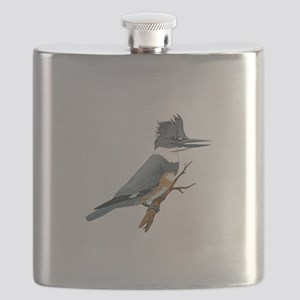 BELTED KINGFISHER Flask