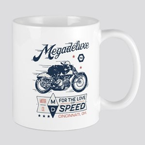 Bike Love Of Speed Motorcycle Graphic Mugs