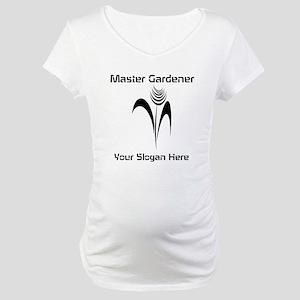 Cool Ink Art Gardener Maternity T-Shirt