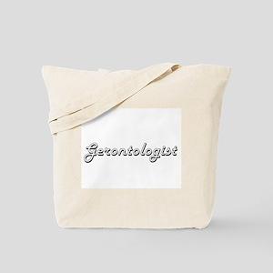 Gerontologist Classic Job Design Tote Bag