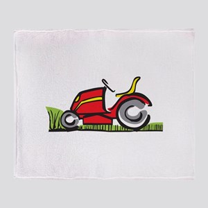 RIDING LAWNMOWER Throw Blanket