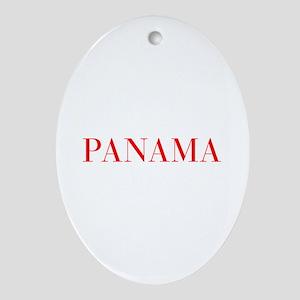 Panama-Bau red 400 Ornament (Oval)